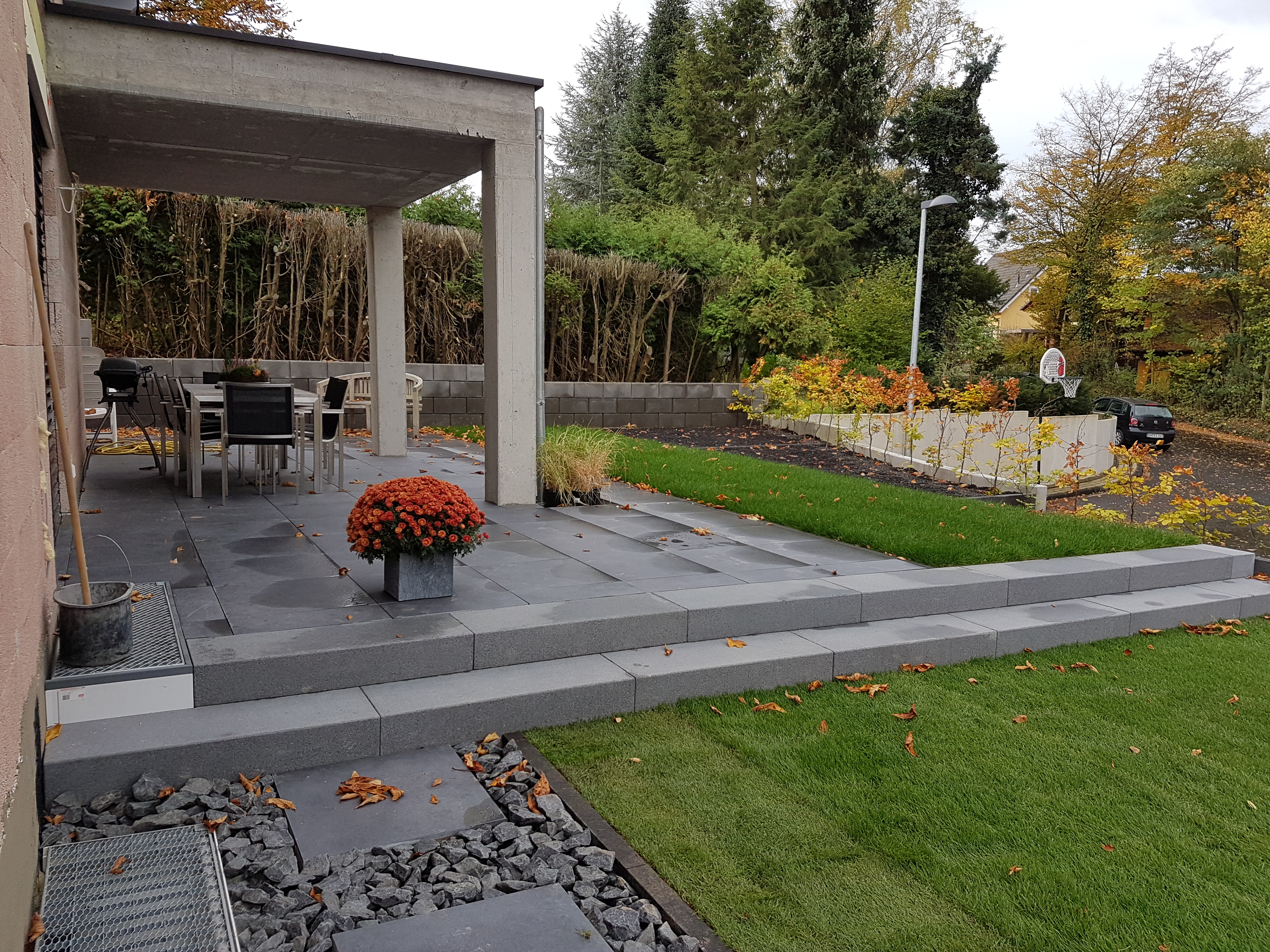 terrassenbau galabau zacheja. Black Bedroom Furniture Sets. Home Design Ideas